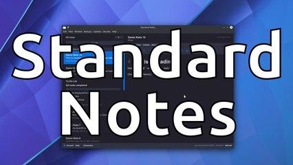 Standard Notes - Encrypted, Cross-Platform Notes