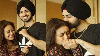 Neha Kakkar Valentine's Day Special Gift by Rohanpreet Singh; VIRAL | Boldsky