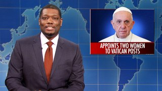 Weekend Update: The Pope Appoints Women & Aunt Jemima Changes Name