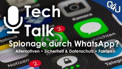 Spionage durch WhatsApp? Alternative Messenger, Sicherheit, Datenschutz | QSO4YOU.com Tech Talk #35