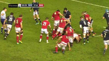 Scotland v Wales - HIGHLIGHTS  Topsy Turvy Thriller Decided By 1 Point!  2