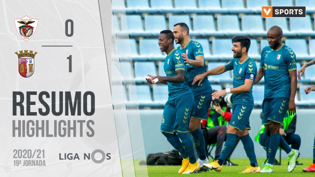 Highlights: Santa Clara 0-1 SC Braga (Liga 20/21 #19)