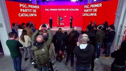 El PSC gana las elecciones en votos y empata con ERC en escaños