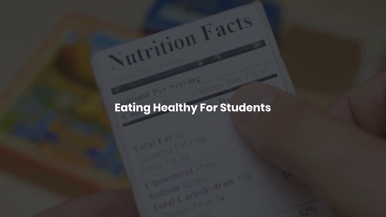 Eating_Healthy_For_Students ! BENEFITS OF EATING HEALTHY