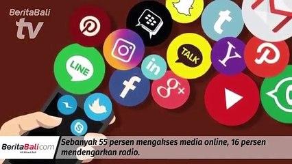 Milenial Dominan Akses Informasi Lewat Tv Dan Media Online Dibandingkan Koran