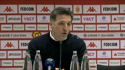 La réaction de Christophe Pelissier après AS Monaco - FC Lorient (2-2) 20-21