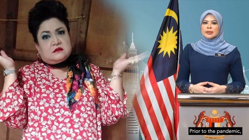 """Adibah Noor ajar Rina Harun sebut perkataan doubt - """"Tak payah 'b' tu"""""""