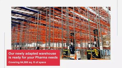 Bolloré Logistics UK - Newly Adapted Pharma Warehouse Heathrow