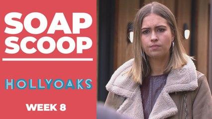 Hollyoaks Soap Scoop! Summer in gun drama