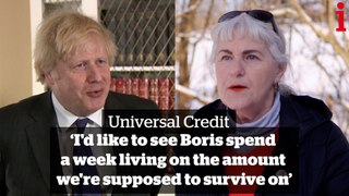 Universal Credit uplift: 'I'd like to see Boris spend a week living on the amount we're supposed to survive on'