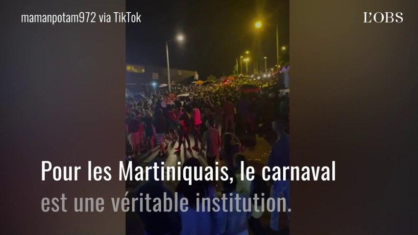 La Martinique fête son carnaval malgré les interdictions dues au Covid