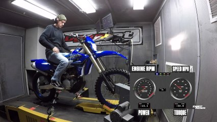 2021 Yamaha WR250F Dyno
