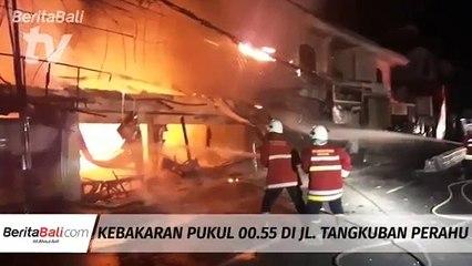 Kebakaran Pukul 00.55 Di Jl.Tangkuban Perahu
