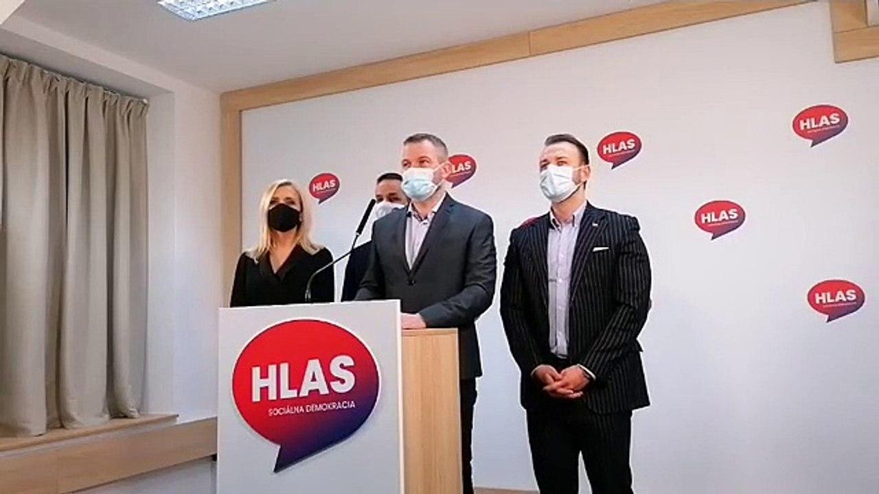 ZÁZNAM: TK strany HLAS-SD