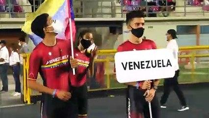 Selección venezolana de patinaje en Panamericano Ibagué Colombia 2021