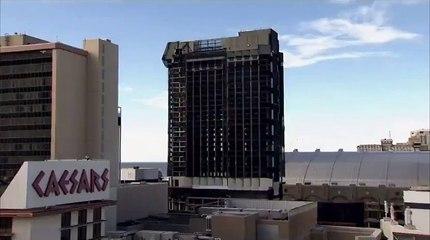 Demolieron el casino construido por Donald Trump en Atlantic City: el momento de la implosión