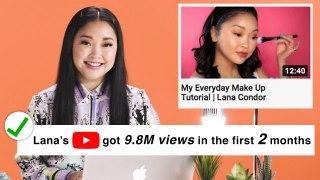 Lana Condor Fact Checks Fans on The Internet