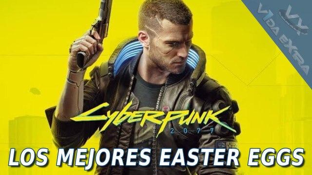 Cyberpunk 2077 - Los MEJORES Easter Eggs