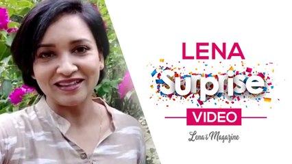 Lena Surprise Video _|  Lena's Magazine |_ Stay Tuned