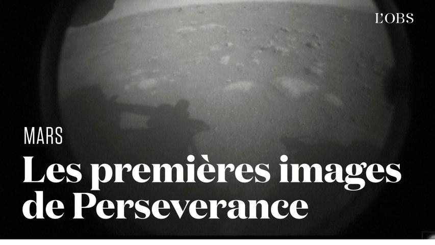Les premières photos de la planète Mars envoyées par Perseverance