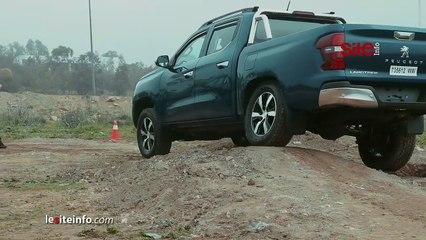 Landtrek, le pick-up réinventé par Peugeot