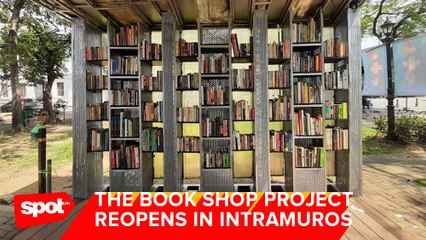 The Book Shop Project Reopens in Intramuros