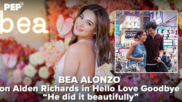 Bea Alonzo on Alden Richards in Hello Love Goodbye | PEP Specials