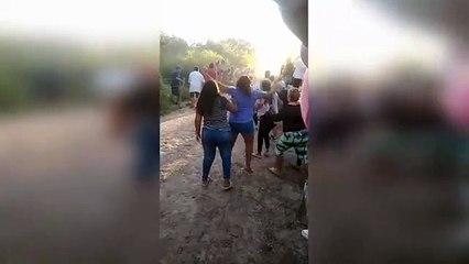 Un caballo chocó a una mujer embaraza en Santiago del Estero