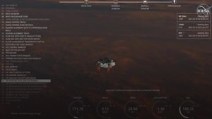 Mars landing: How the daring Nasa mission unfolded