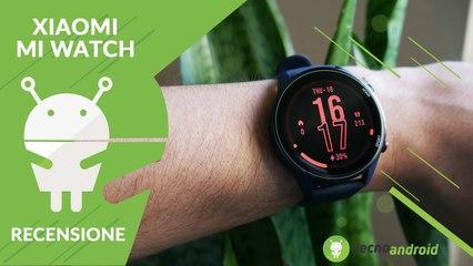 RECENSIONE Xiaomi Mi Watch: un display da urlo!