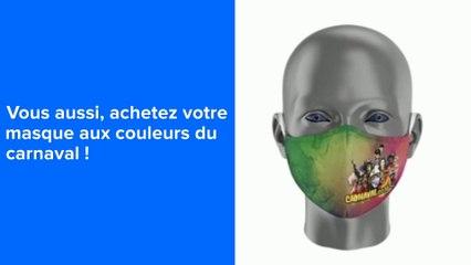 Actus : Vous aussi achetez votre masque aux couleurs du carnaval - 19 Février 2021