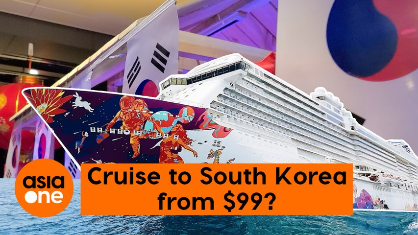 A cruise to South Korea from $99?