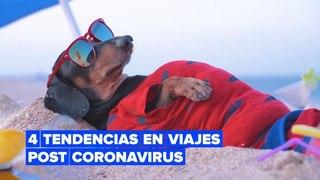 4 tendencias en viajes post coronavirus