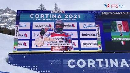 Backstage - Jour 12 - Championnats du Monde, Cortina