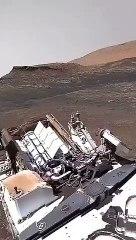 Planète Mars: Première vidéo au sol (son actif) du robot Perseverance