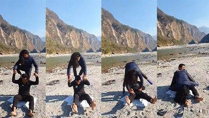 Kavita Kaushik ने Husband Ronit Biswas के साथ की ये अजीब हरकत, VIRAL VIDEO | Boldsky
