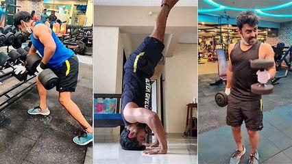 रोहान गुजरच्या इंटेन्स Gym Workout ने फॅन्स झाले इंप्रेस