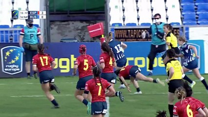 REPLAY SPAIN / RUSSIA - RUGBY EUROPE WOMEN'S CHAMPIONSHIP 2020