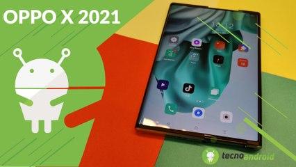 OPPO X 2021: è il FUTURO degli SMARTPHONE!