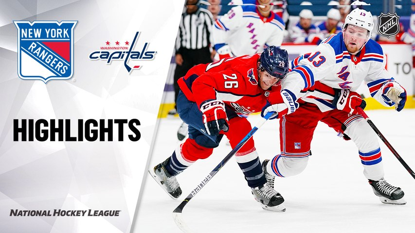 Rangers @ Capitals, 2/20/21 | NHL Highlights