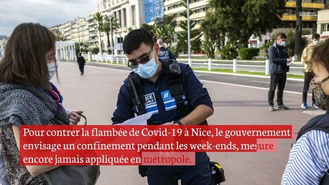 Covid-19 : l'alerte à Nice inquiète la France