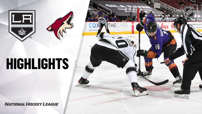 Kings @ Coyotes 2/20/21 | NHL Highlights