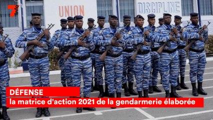 Défense: la matrice  d'action 2021 de la gendarmerie élaborée