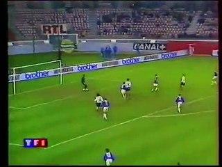 15/01/95 : Marco Grassi (87') : Paris SG - Rennes (3-1)