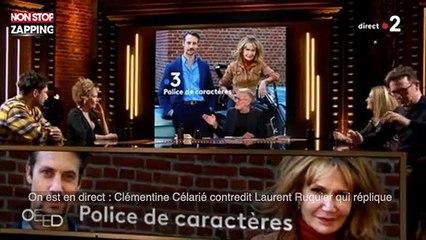On est en direct : Clémentine Célarié contredit Laurent Ruquier qui réplique (vidéo)