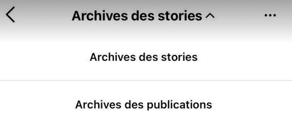 Instagram : comment archiver/désarchiver une publication ?