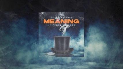 Cascadeur - Meaning
