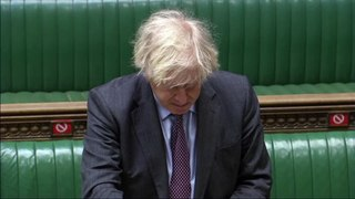 Boris Johnson says data indicates single dose of Pfizer-BioNTech vaccine reduces hospitalisations and deaths by 75 percent