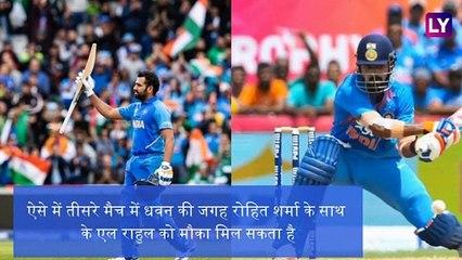 India vs West Indies 3rd ODI 2019 Preview: इन खिलाड़ियों के साथ उतर सकती है टीम इंडिया