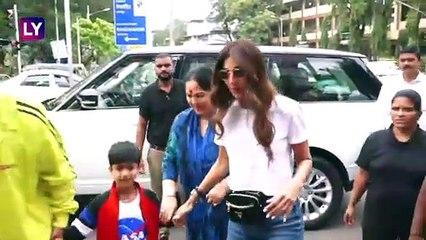 Bollywood Celebs Spotted: अनन्या पांडे, शिल्पा शेट्टी रेस्टोरेंट के बाहर हुए स्पॉट |Ananya Panday